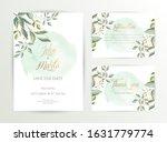 watercolor wedding set. set of... | Shutterstock .eps vector #1631779774
