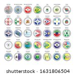 Set Of Vector Icons. Flags Of...