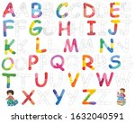 English Alphabet In Cute...