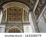 paris's arc de triomphe | Shutterstock . vector #163208579