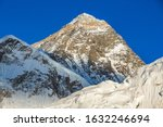 view of the everest from kala... | Shutterstock . vector #1632246694