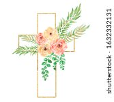 Watercolor Easter Cross Clipart ...