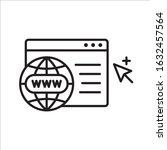 web icon. global network icon....