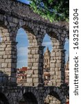 Segovia  Spain. Ancient Roman...