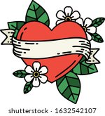 tattoo in traditional style of... | Shutterstock .eps vector #1632542107