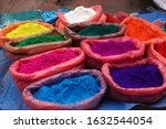 nepal market street seller of... | Shutterstock . vector #1632544054