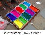 nepal market street seller of... | Shutterstock . vector #1632544057