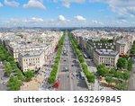 Paris. View Of The Champs...