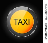 taxi sign. car transport icon.... | Shutterstock .eps vector #1632800941