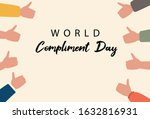 world compliment day hand...   Shutterstock .eps vector #1632816931