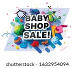 Banner Baby Shop Sale Products...