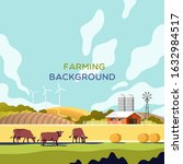 agriculture and farming.... | Shutterstock .eps vector #1632984517