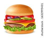 Hamburger Illustration....