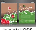 gift shop flyer   poster cover... | Shutterstock .eps vector #163302545