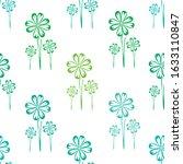 elegant seamless pattern with...   Shutterstock .eps vector #1633110847