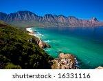 gordons bay near cape town... | Shutterstock . vector #16331116