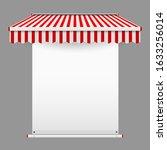 announcement textile banner...   Shutterstock . vector #1633256014