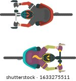 Two Vector Illustrations Of...