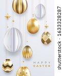 easter holiday vector... | Shutterstock .eps vector #1633328287