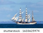 Historic Clipper Sailing Ship...