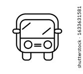 truck icon outline style vector ...