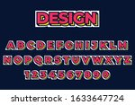 modern strong bold font effect...   Shutterstock .eps vector #1633647724