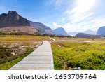 Picturesque Rocky Peaks Of The...