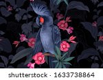 Exotic Seamless Floral Pattern. ...