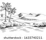 Desert River Graphic Black...