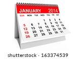 2014 Year Calendar. January...
