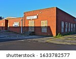 Small photo of Pencoed, Bridgend County Borough / Wales UK - 1/19/2020: The former RAOB Club (Royal Antediluvian Order of Buffaloes, or 'Buffs') is now closed and awaiting demolition, possibly to provide housing.