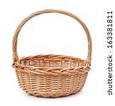 Basket Isolated On White...