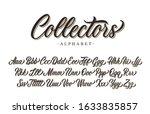 collectors calligraphy premium...   Shutterstock .eps vector #1633835857