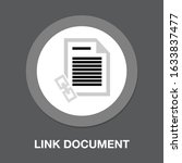 vector link document or page....   Shutterstock .eps vector #1633837477