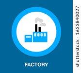 vector factory building...   Shutterstock .eps vector #1633840027