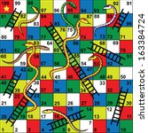 Snakes And Ladders Board Game ...