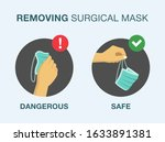how to correctly remove a... | Shutterstock .eps vector #1633891381
