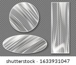 transparent plastic stretch... | Shutterstock .eps vector #1633931047