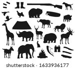 Hunt Icons  Wild Animals And...