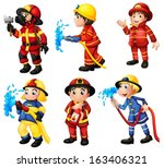 apparatus,axe,background,blue,boys,breath,breathing,cartoon,clipart,colorful,drawing,emergency,extinguisher,fire,firefighter