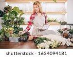 Young Caucasian Lady Florist...