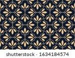 flower geometric pattern.... | Shutterstock .eps vector #1634184574