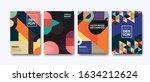 bussiness cover  annual report... | Shutterstock .eps vector #1634212624