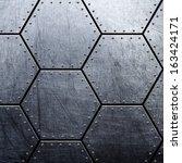 metal background | Shutterstock . vector #163424171