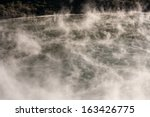 Vapours Above Volcanic Lake In...