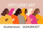 international women's day.... | Shutterstock .eps vector #1634284327