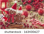 Christmas Gingerbread Man And...