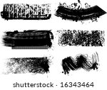 grunge brushes 8. check my... | Shutterstock .eps vector #16343464