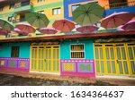 guatape  antioquia   colombia   ... | Shutterstock . vector #1634364637