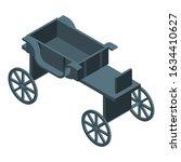 Black Horse Carriage Icon....